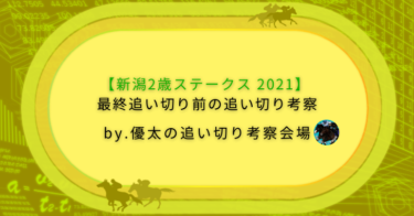 【新潟2歳ステークス 2021】最終追い切り前の追い切り考察